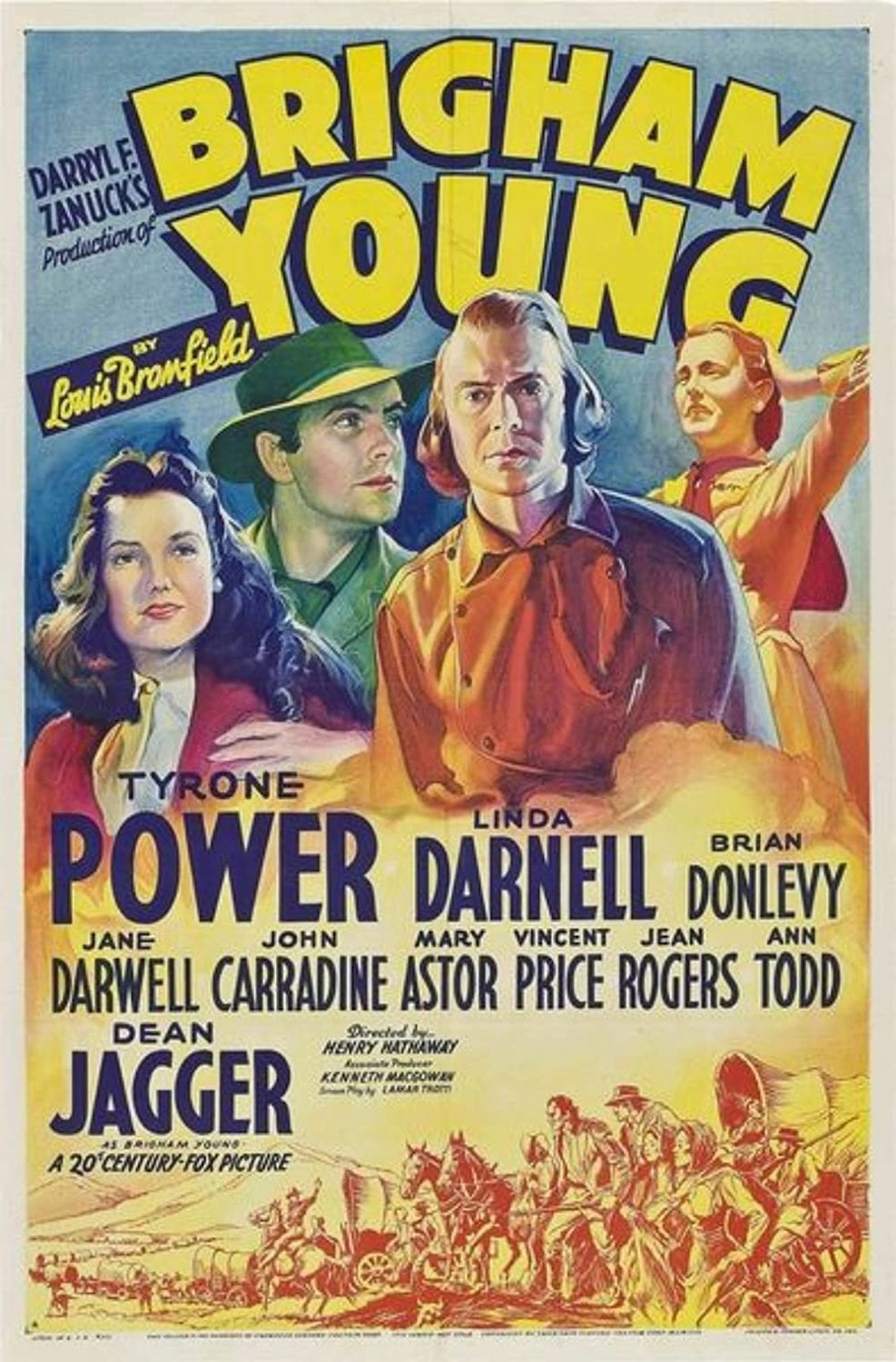 1940 Brigham Young Poster