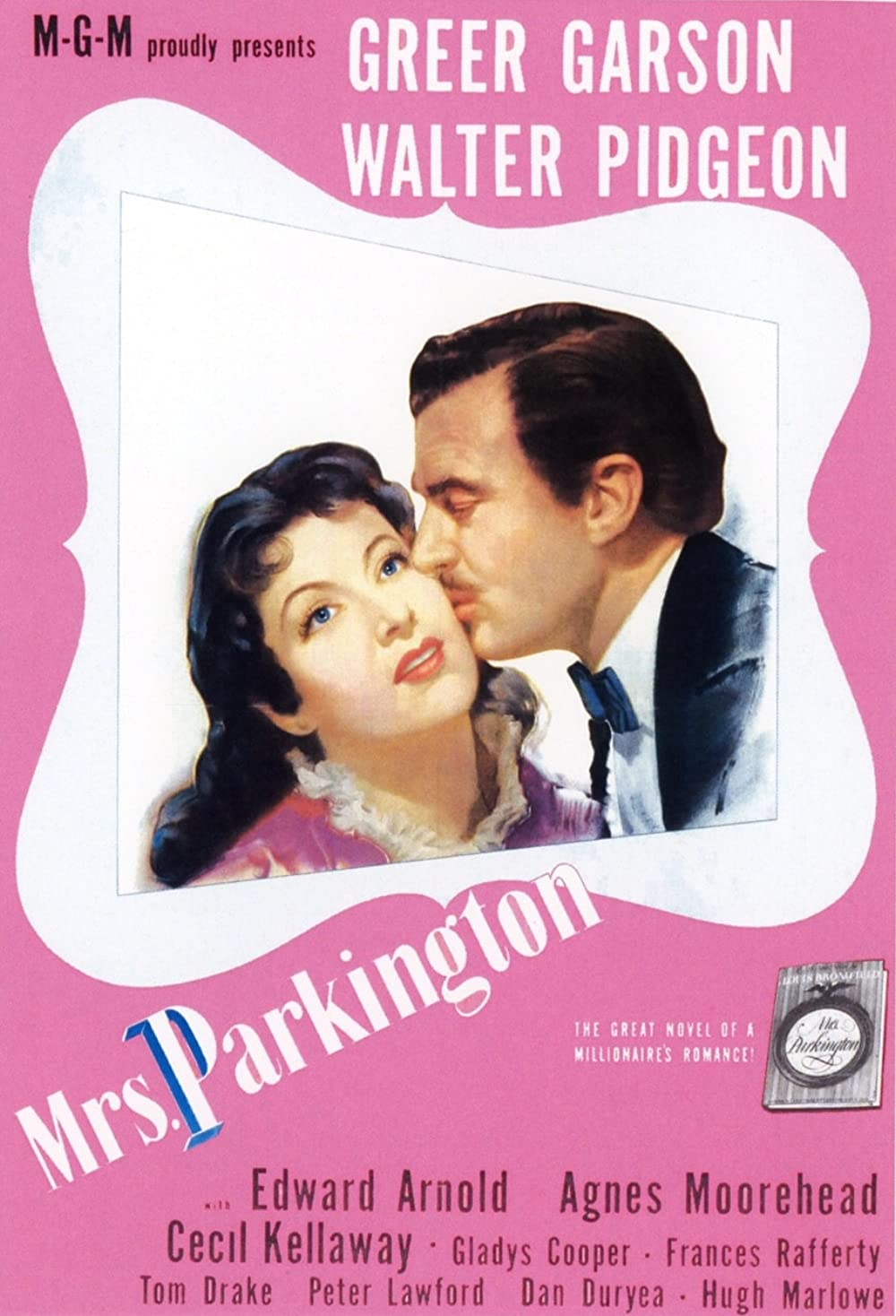 1944 Mrs. Parkington (novel) Poster