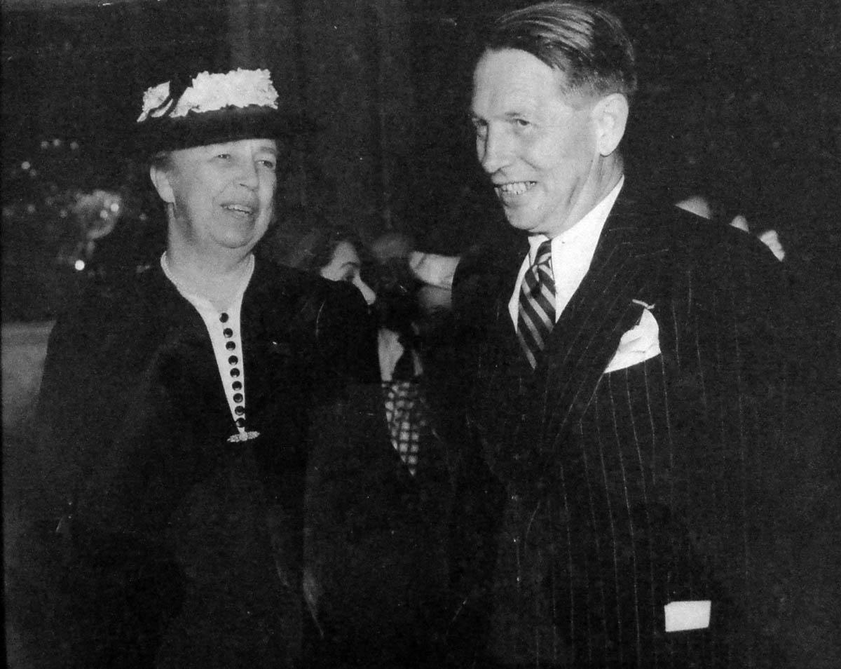 Bromfield and Eleanor Roosevelt