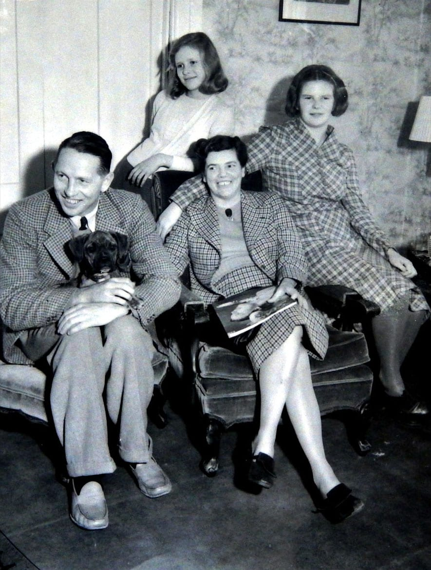 Right to left: Louis,Mary and Ann (sitting) Hope (Standing)